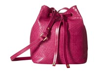 Lodis Palma Blake Small Drawstring Bag Fuchsia Drawstring Handbags Pink