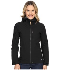 Fjall Raven Abisko Eco Shell Jacket Black Women's Coat