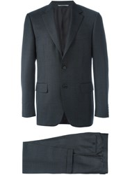 Canali 'Diplomatic' Suit Grey