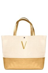 Cathy's Concepts Personalized Canvas Tote Yellow Gold V
