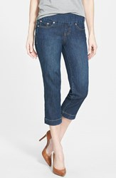 Women's Jag Jeans 'Caley' Pull On Crop Jeans Blue Shadow