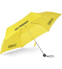 Fulton Selfridges Super Slim Umbrella Yellow