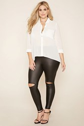 Forever 21 Plus Size Faux Leather Leggings