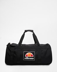 Ellesse Box Logo Duffle Bag Black
