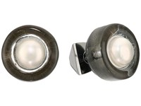 Alexis Bittar Pearl Studded Post Earrings Ash Earring Gray