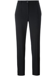Dolce And Gabbana Slim Fit Trousers Black