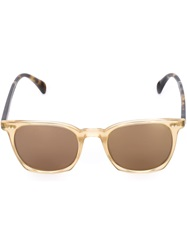 Oliver Peoples Clear Frame Sunglasses Nude And Neutrals