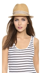 Rag And Bone Summer Fedora Natural Multi
