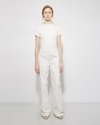 The Row Muro Denim Trouser White
