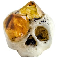 Macabre Gadgets Crystal Growth Ring Citrine