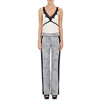 Philosophy Di Alberta Ferretti Women's Lace Appliqued Crepe And Tweed Jumpsuit Size 0 Us No Color