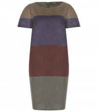 Loro Piana Ellies Striped Cashmere Dress Multicoloured