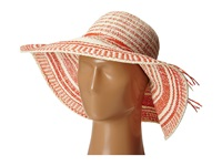 Michael Stars Faded Shade Floppy Hat Tomato Caps Red