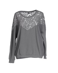 European Culture Topwear Sweatshirts Women Black