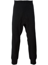 Neil Barrett Drop Crotch Track Pants Black