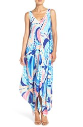 Lilly Pulitzerr Women's Pulitzer 'Anise' Silk A Line Maxi Dress