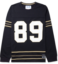 Hall Of Fame Navy Score L S Jersey