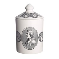 Fornasetti Scented Candle Cammei Bianco