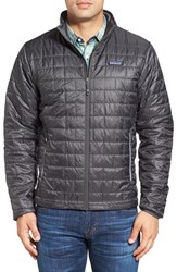 Patagonia Men's 'Nano Puff' Water Resistant Jacket Forge Grey