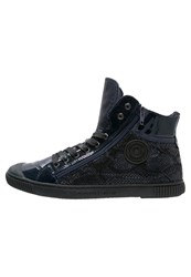 Pataugas Bono Hightop Trainers Marine Dark Blue