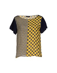 Max And Co. Shirts Blouses Women Yellow
