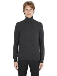 Z Zegna Wool Cashmere Knit Turtle Neck Sweater