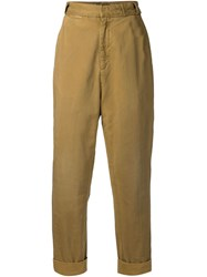 Levi's Vintage Clothing 1920'S 'Make' Trousers Brown