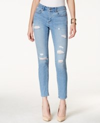 Two By Vince Camuto Ripped Rip Blue Wash Skinny Jeans