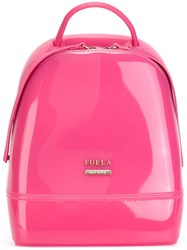 Furla 'Candy' Backpack Pink And Purple