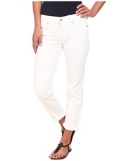 Lucky Brand Mollie Crop White Women's Clothing