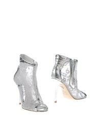 Ruco Line Footwear Ankle Boots Women Silver
