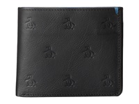 Original Penguin Jimmy Bifold Wallet Black Wallet Handbags