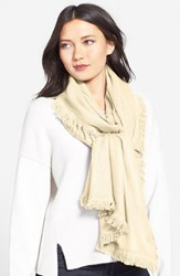 Women's La Fiorentina Wool And Cashmere Scarf Ivory