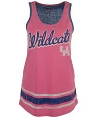 G3 Sports Women's Kentucky Wildcats Wild Card Rio Tank Top Pink Blue