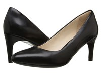 Cole Haan Grace Grand Pump 65Mm Black Leather Women's Shoes