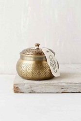 Moroccan Embossed Metal Candle Urban Outfitters