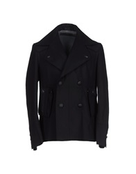 Karl Lagerfeld Coats Black