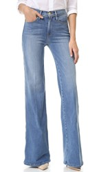 Frame Le Capri Piping Wide Leg Jeans Lido Beach