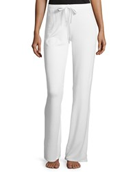 Natori Knit Lounge Pants W Drawstring Women's Warm White