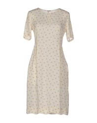 Massimo Alba Dresses Short Dresses Women Ivory