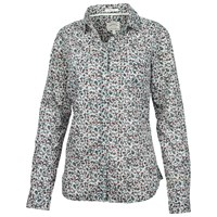 Fat Face Classic Fit Berry Shirt Ivory