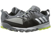 Adidas Kanadia 8 Tr Grey White Solar Yellow Men's Running Shoes Gray