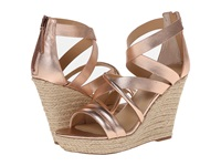 Joe's Jeans Robina Copper Metallic Women's Wedge Shoes