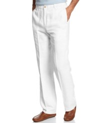 Tommy Bahama Big And Tall New Linen On The Beach Pants White