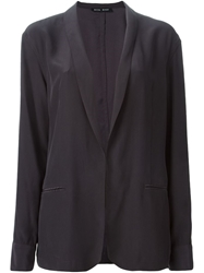 Baja East Shawl Lapel Blazer Black