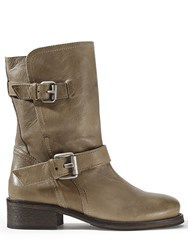 Jigsaw Ruby Biker Boot Taupe