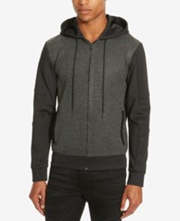 Kenneth Cole Reaction Men's Carlson Colorblocked Hoodie Black