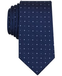 Nautica Men's Orust Grid Tie Navy