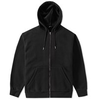 Alexander Wang T By Oversize Fleece Hoody Black