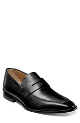 Men's Florsheim 'Sabato' Penny Loafer Ebony Leather